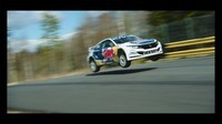 Honda Civic X Red Bull en vol