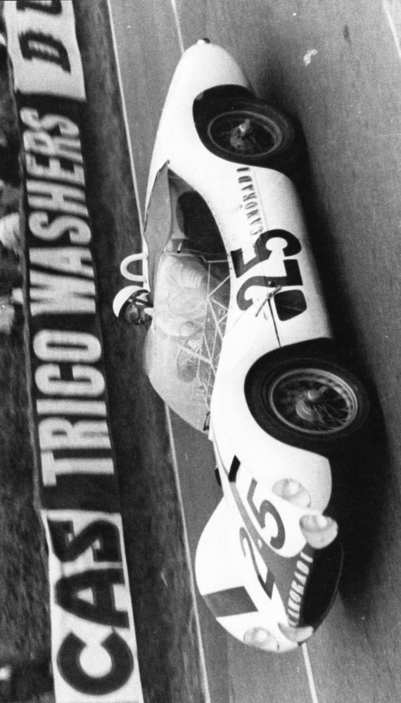 RB LE MANS 60 TIPO 61 JIM JEFFORDS LUCKY CASSNER CAMORADI AB 11èH BOITE