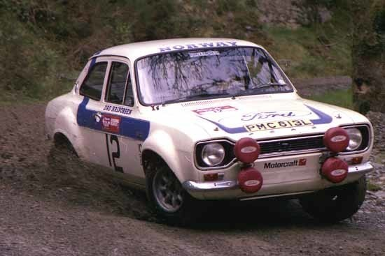 Retro colour Ford Norway 12 Welsh 75