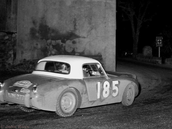 MC59 Tommy Wisdom and Johns - Austin Healey Sprite