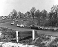 19 Tom Dickson - Lotus Eleven Climax, 7 Graham Hill - Lotus Eleven Climax
