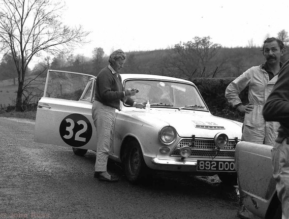 RAC63 Mrs Anne Hall - Ford Cortina
