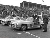 Tulip Rallye 57 -  - 1 WJJ Tak - line up of Mercs