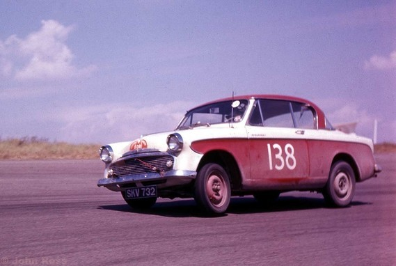 Tulip Rallye 57 -  J Ray, I Hall - Sunbeam Rapier