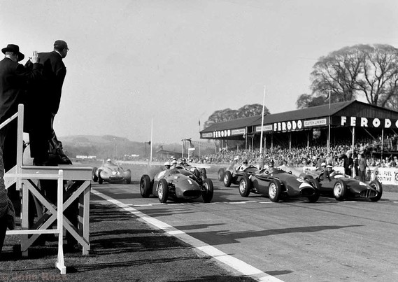 1956 -Start Glover Trophy - 1 Stirling Moss - Maserati