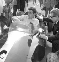 Silverstone - May 58 - Roy Salvadori - Cooper Climax FPF T45