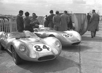 1959 - A Trio of Lola-Climax - Peter Ashdown,P Gammon and MJC Taylor