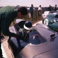 1956 24 - Mike Hawthorn - Lotus Climax