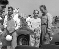 1959 - Carol Shelby, Stirling Moss and Mike Costin