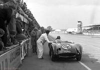 Silverstone - Daily Express 57 - Tojeiro-Jaguar - Graham Hill