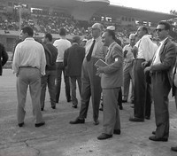 Monza 59 - Sr Enzo Ferrari and entourage
