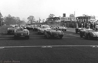 Oulton Park - 1957 - Start of the larger engines