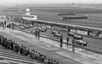 Aintree 54 - Start 39 Peter Collins - Ferrari Thinwall Special, 9 Ken Wharton - BRM, 4 Roy Salvadori