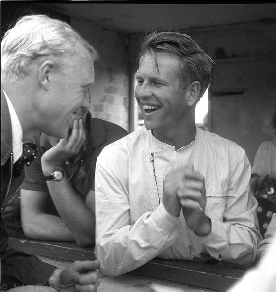 Silverstone 58 - Mike Hawthorn and Peter Collins