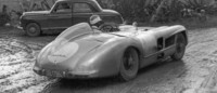 Fitch and a 300 SLR in 1955