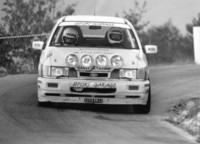 Jacques Tasso - Michèle Ranchoux (Ford Sierra RS Cosworth) 1991