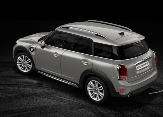 2-mini countryman PHEV total melting silver body & roof