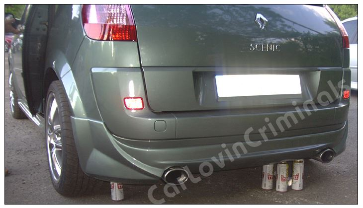 Ebay - Rear Bumper with two exhaust tips