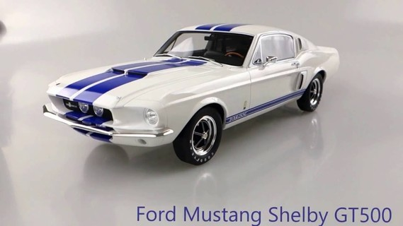 ford mustang shelby otto 1/12