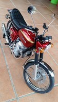Honda cb 750 1/4 model space.