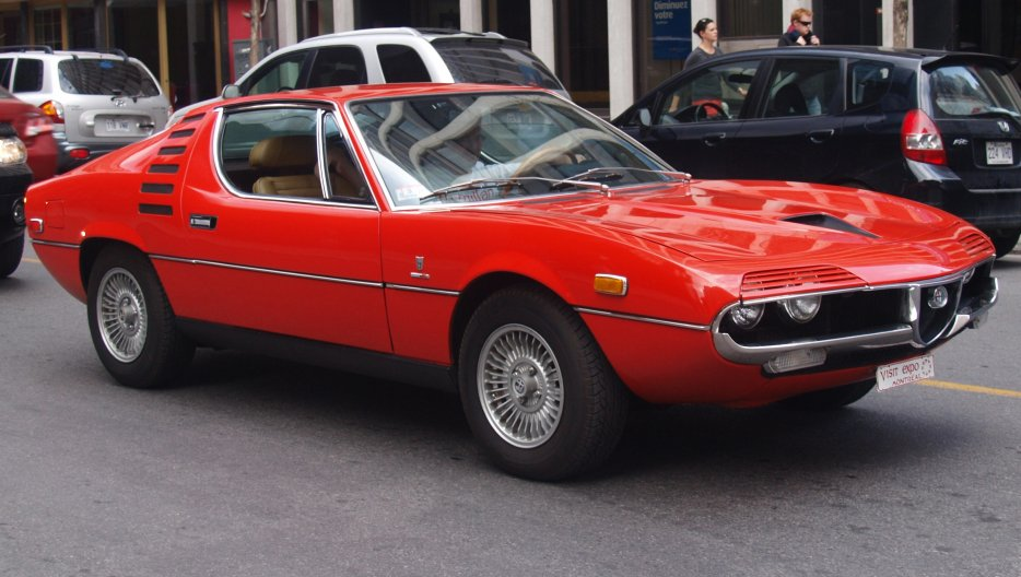 alfa romeo montreal anciennes dans la rue coolmontreal photos club. Black Bedroom Furniture Sets. Home Design Ideas