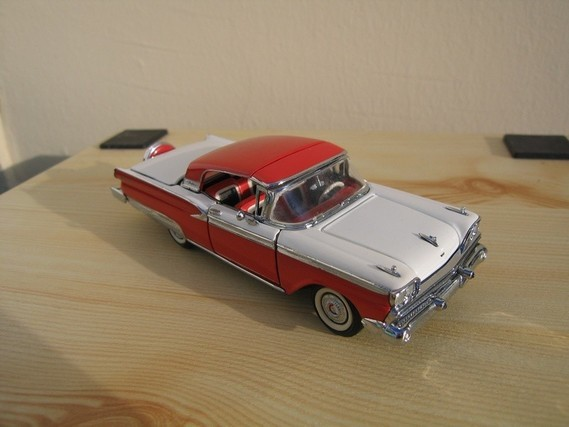 Ford Galaxie Skyline Franklin Mint 1959 (8)
