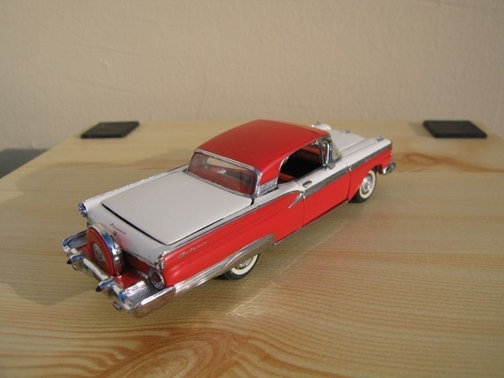 Ford Galaxie Skyline Franklin Mint 1959 (9)