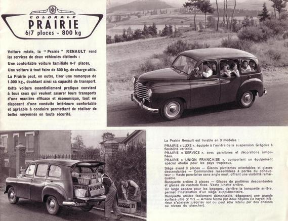 renault colorale 1954 003 catalogues interceptor s4 photos club. Black Bedroom Furniture Sets. Home Design Ideas
