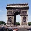 Arc Triomphe DS Aronde 2CVfg US