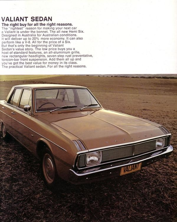 Chrysler AUS Valiant VG c1969 02