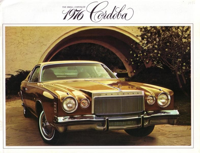 Chrysler Cordoba 1976 USA 001