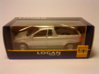 Dacia Logan Pick-up phase 1 collection 2 - Gris platine - éch.3 inchs (1.58) - réf.77 11 426 101 - b