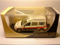 Dacia MCV 1-1.5 DCI phase 1 collection 2 - Ambulance Roumaine-éch.1.43-réf.101 138 - boite Eligor