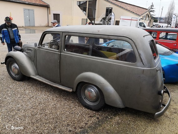 Simca 8 fourgonnette