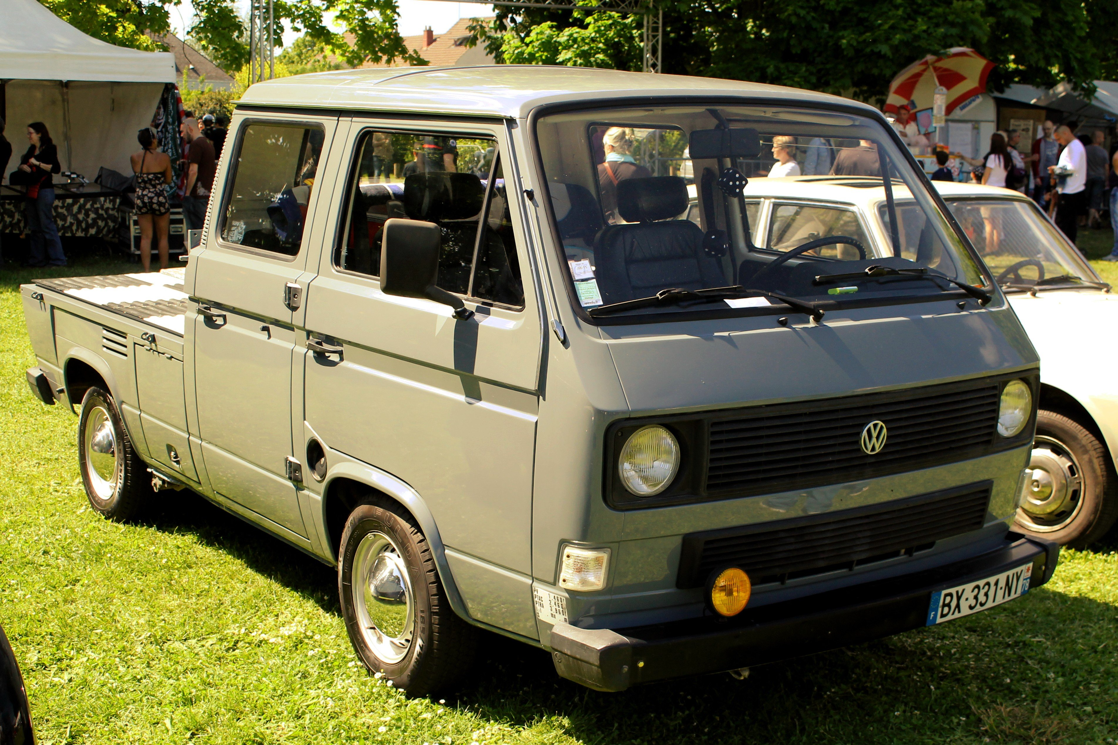 volkswagen t3 plateau double cabine asb asb14 photos club. Black Bedroom Furniture Sets. Home Design Ideas