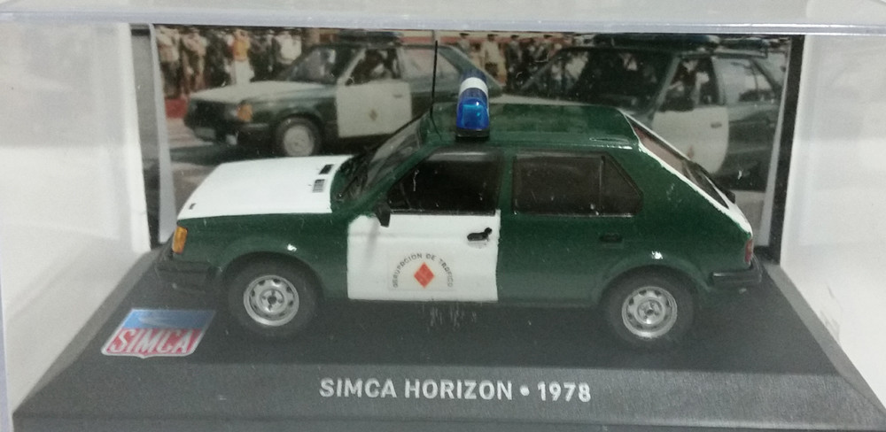Talbot horizon 1980 Guardia civil