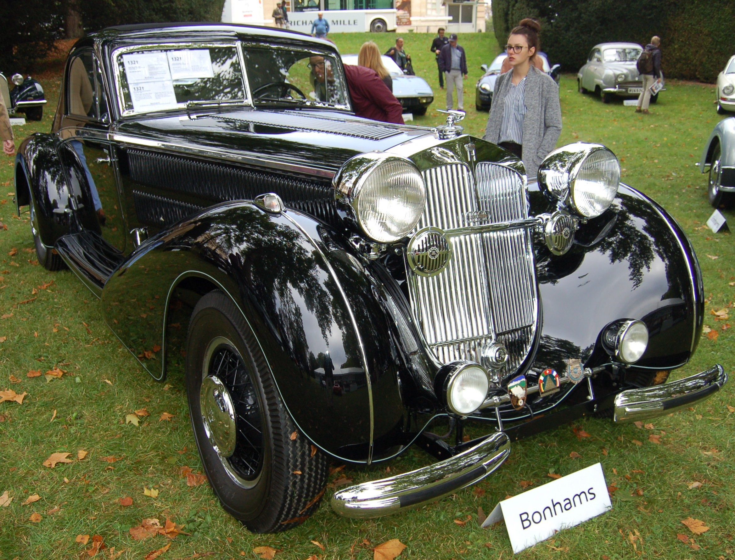 Horch 853 Coupe Stromliner
