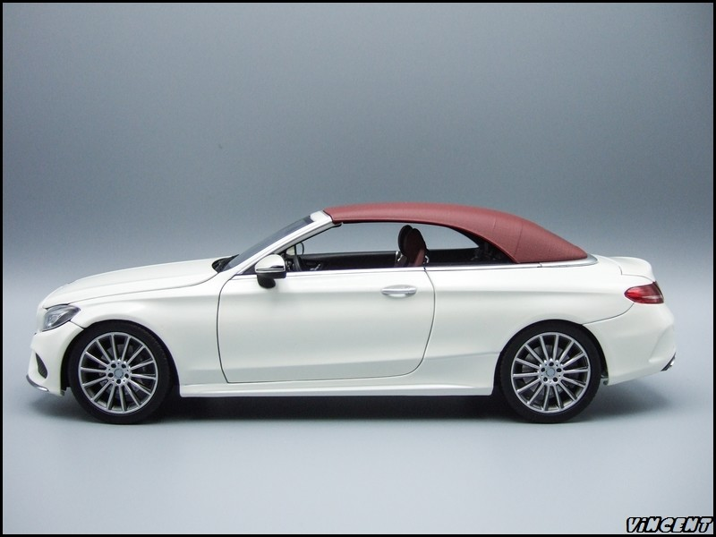 1 18 mercedes c klasse cabrio a205 modelcarforum. Black Bedroom Furniture Sets. Home Design Ideas