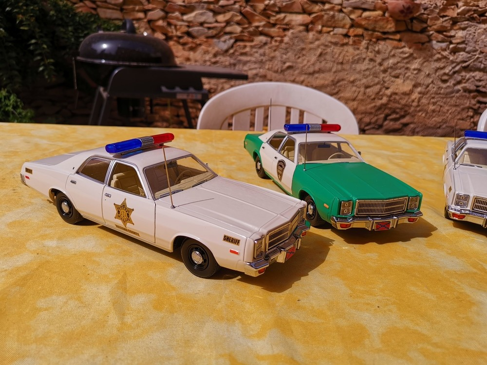 Hazzard county and Chickasaw county Patrol cars