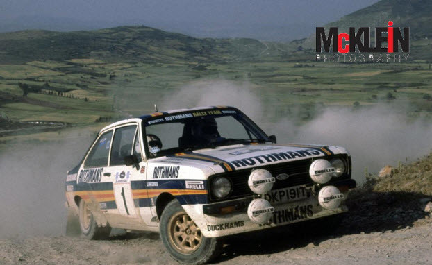 Ari VATANEN / David RICHARDS - Rallye de l'Acropole 1981