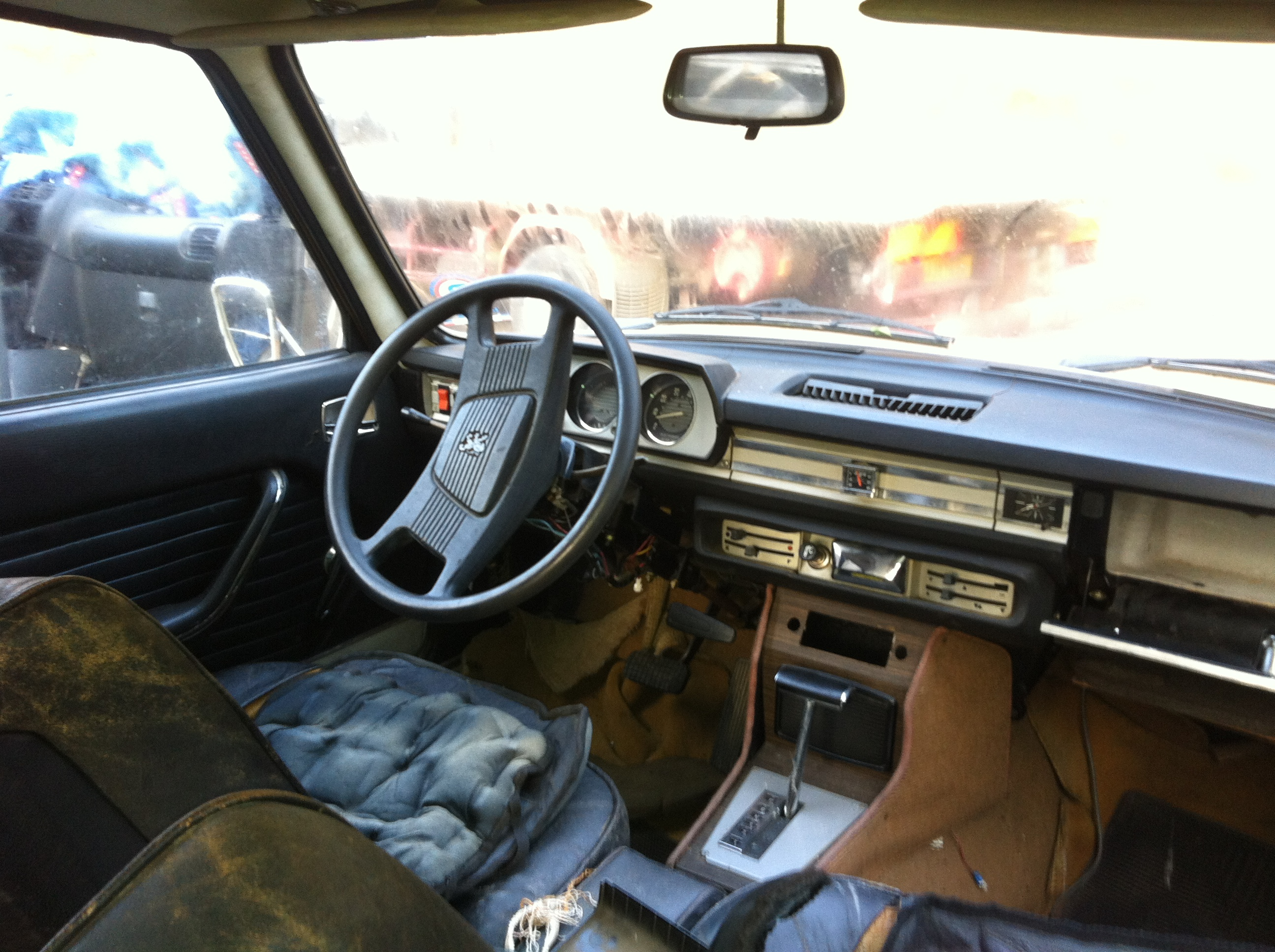 Peugeot 504 automatique injection 1972 restauration for Interieur 504 coupe