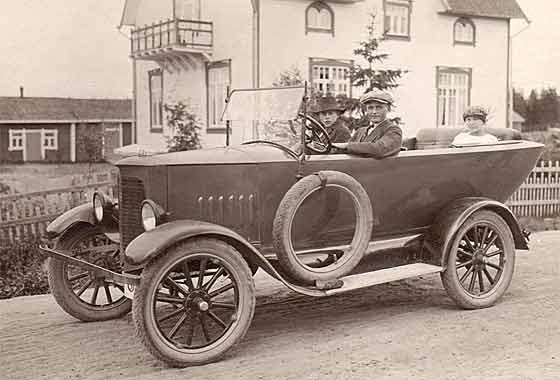 1921 Ford Model T special from Finland