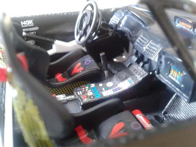 Int rieur fini peugeot 307 wrc nounours88140 photos for Interieur wrc