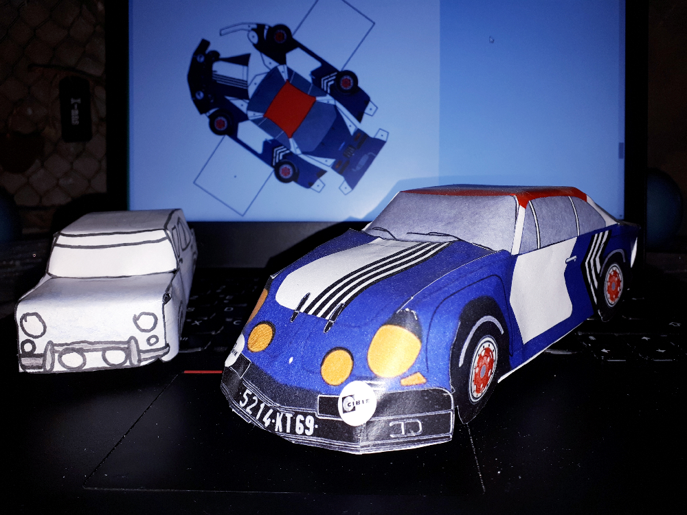 origami Alpine Renault A110 Groupe 4 MENY 111 PW 88