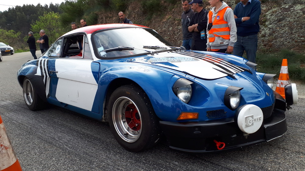 Alpine A110 1800 Groupe IV ex MENY Legende Rallye Passion 2019