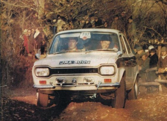 FORD Escort Land's End Trial 1969 CCC 06 Tyrer