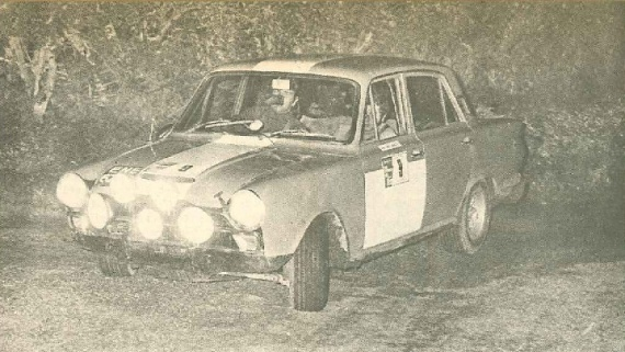 FORD Cortina Lotus 1971 Plains Rally McIlveen Mancey