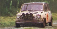 AUSTIN Mini 1970 Wiltshire Rally Thurlow Holliday CCC1969 07