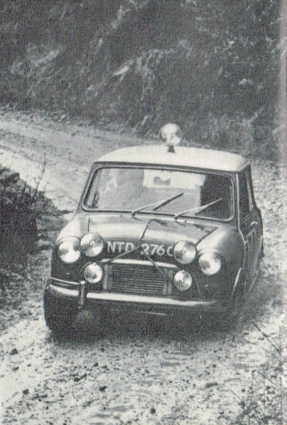 AUSTIN Mini 1965 RAC Mapple Marrs