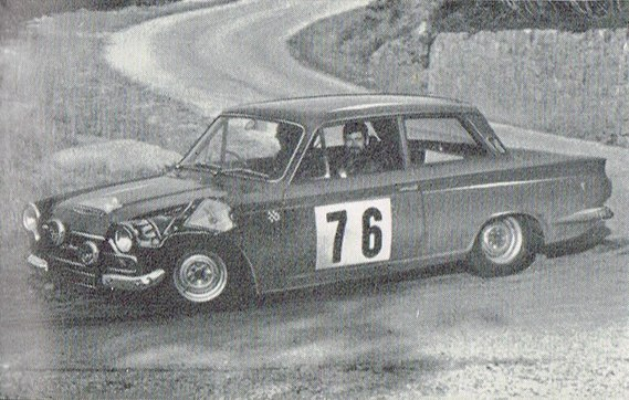 FORD Cortina Lotus 1965 Coupe des Alpes Seighle-Morris Nash